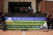Dignidad agropecuaria radica referendo para mejorar la situación en el campo