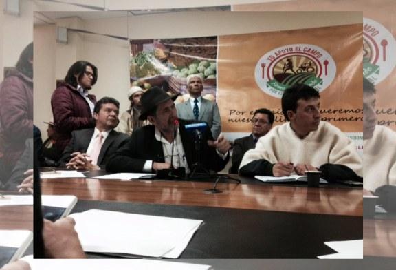 Lanzamiento del Referendo por el Agro en Bogotá
